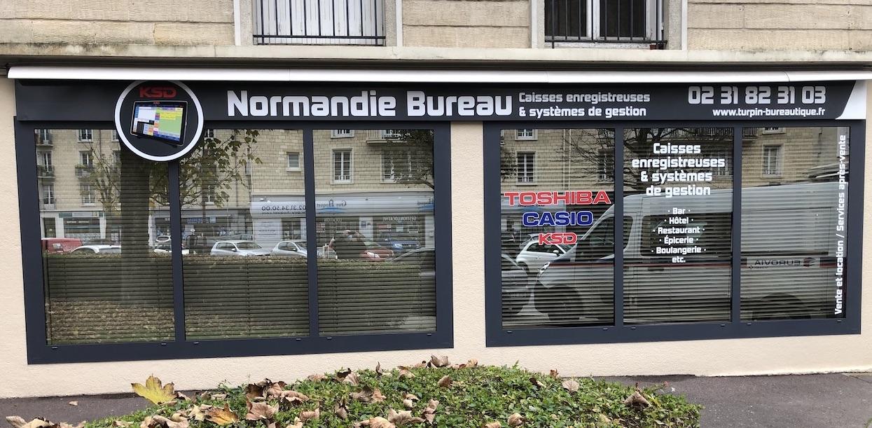 Turpin Bureautique et Normandie Bureau fournissent du matériel d